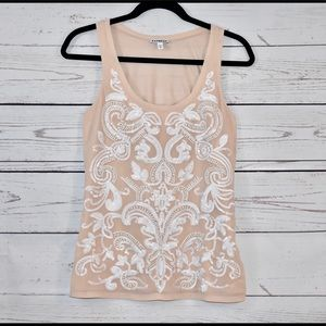 Express   Sequin Tank   Size XS